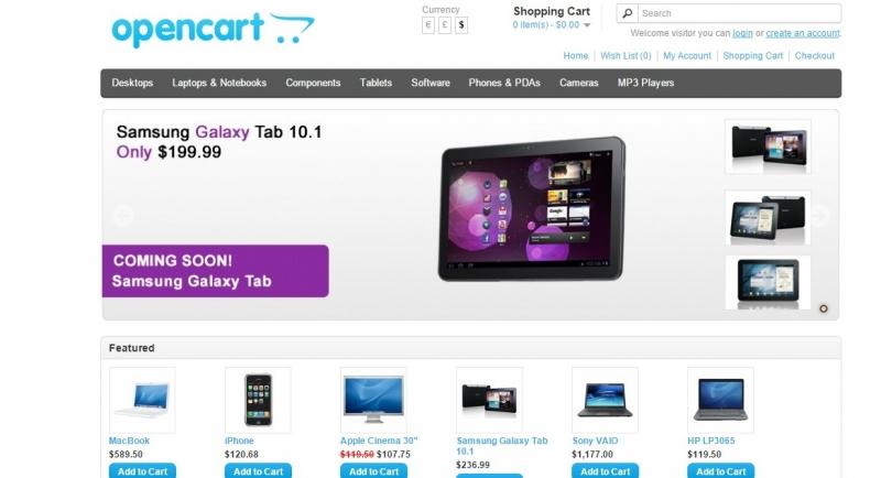 OpenCart: начать торговать через час