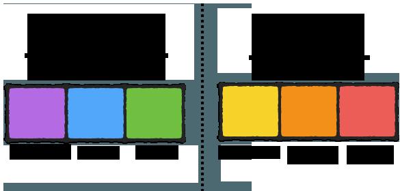 Цвет и тип ментальной обработки