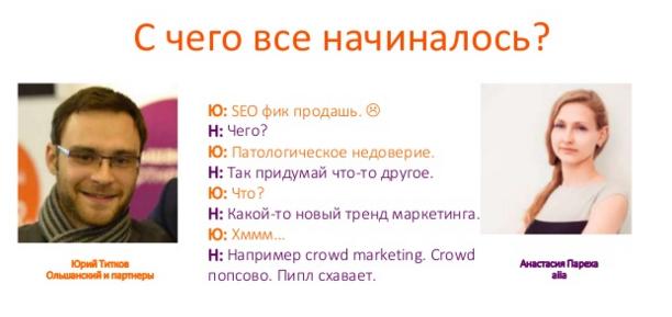 Как появился термин крауд маркетинг