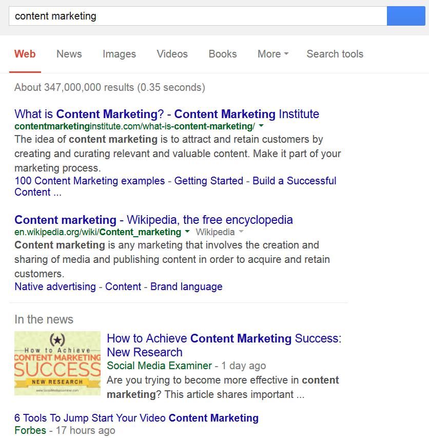 Используем google для поиска конкурентов