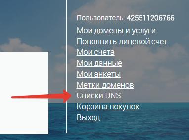 Ищем раздел DNS сайта domains.webmoney.ru