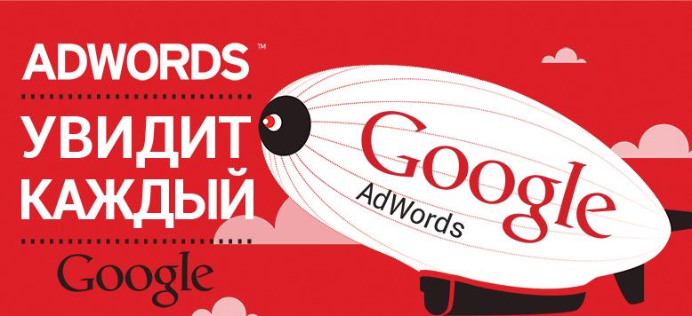 Контекстная реклама в Google AdWords