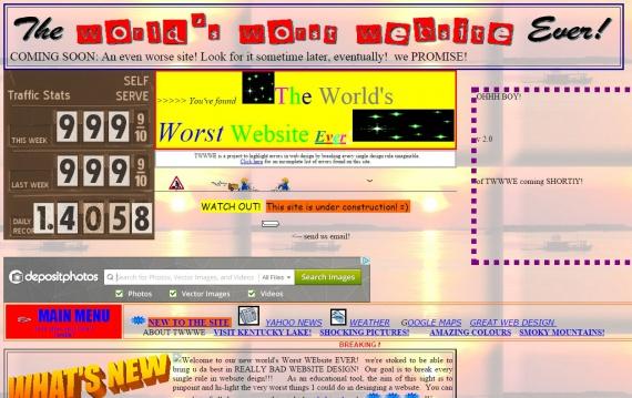 гениальный дизайн сайта